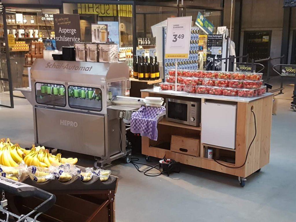 Mobiele voedselbereidings wagen